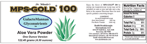 MPS Gold 100 Label